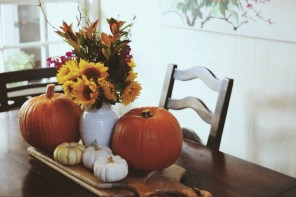 Easy Fall Flower Arrangements