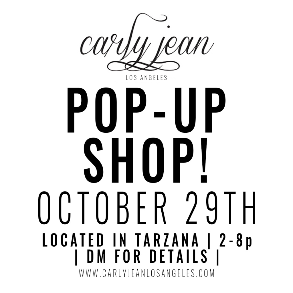 CJLA October Pop-Up!!