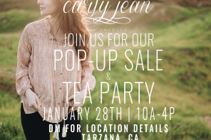 CJLA January Pop UP!!